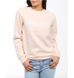 9d470130 Brunette The Label Brunette Classic Crew Sweatshirt