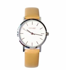 PiperWest Mini Minimalist Watch SIL/BONE