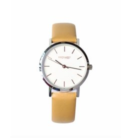 PiperWest Mini Minimalist Watch SIL/BONE