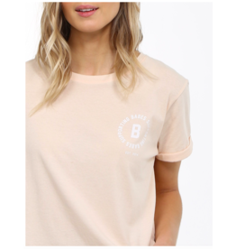 Brunette The Label Babes Supporting Crop Tee PCH