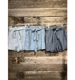 Vero Moda Emily Chambray Short