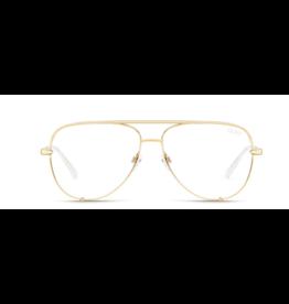 Quay High Key Mini Glasses GLD/CLR