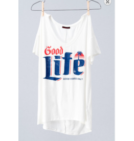 Trend:Notes Good Life Tee WHT