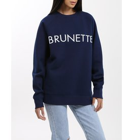 Brunette The Label Brunette Crew NVY