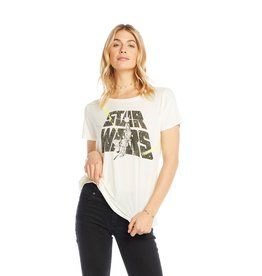 Chaser Star Wars May The Force Tee WHT