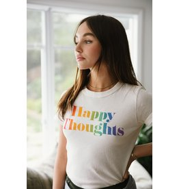 Chaser Happy Thoughts Tee CRM