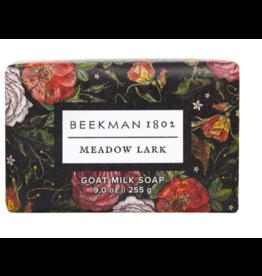 Beekman 9oz Bar Soap Meadow Lark
