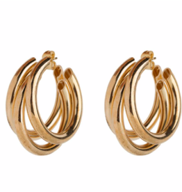Club Manhattan Stack It Up Earring GLD