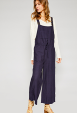 Sadie & Sage Ladakh Linen Overall NVY