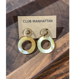Club Manhattan Mea Earstuds