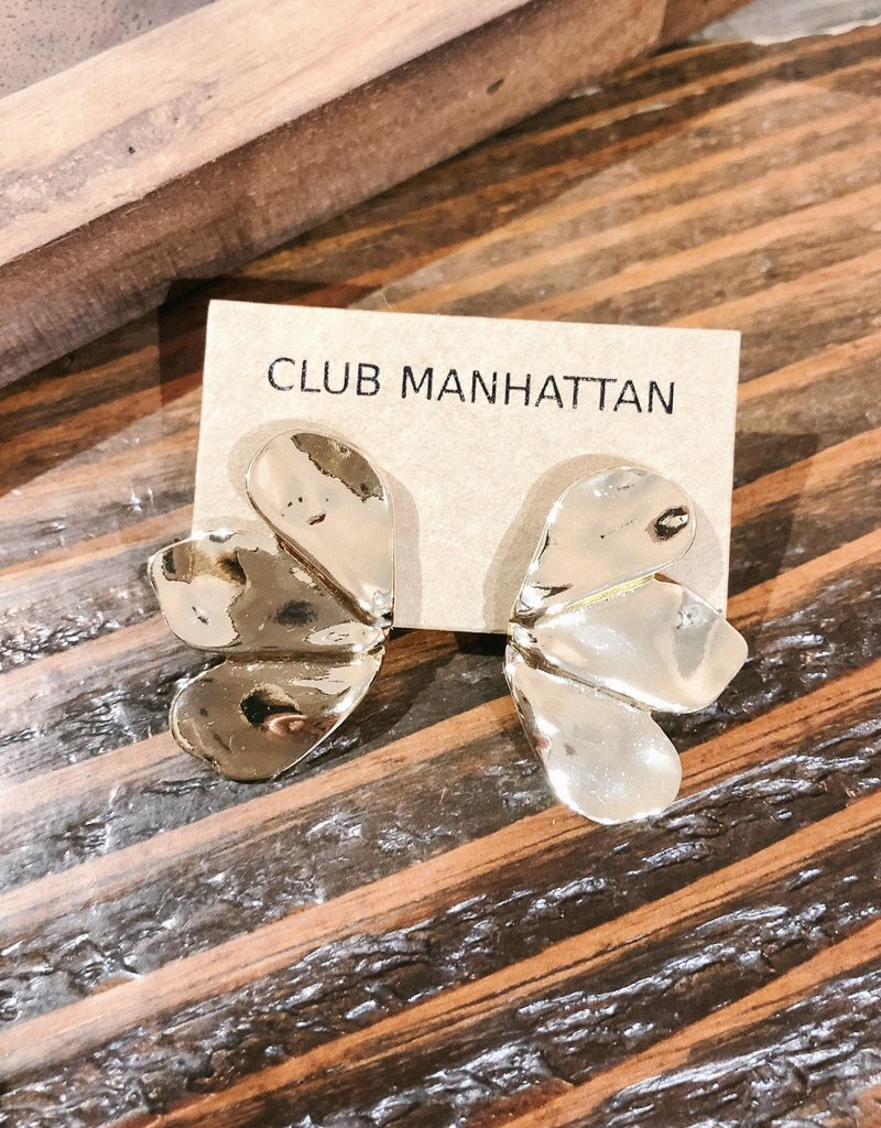 Club Manhattan Butterfly Stud GLD