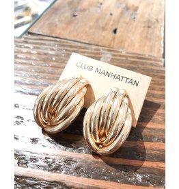 Club Manhattan Liv Earstud GLD