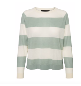 Vero Moda Lina Stripe Crop Sweater