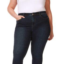 Dex Plus Mid Rise Dark Wash Skinny Jean