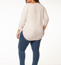 Dex Plus Round Hem Sweater HOAT