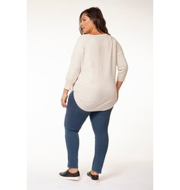 Dex Plus Round Hem Sweater HOAT