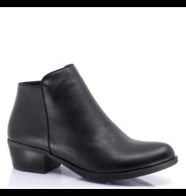 Taxi Alexis Low Heel Zip Boot BLK