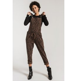 Z Supply Leopard Overall BRN