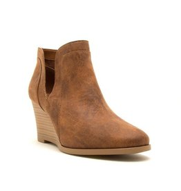 Qupid Orna Wedge Bootie CAM