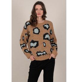 Molly Bracken Leo Crew Sweater CAM