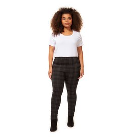 Dex Plus Check Pull On Pant BLK