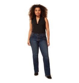Dex Plus Slim Bootcut Jean Dark DNM