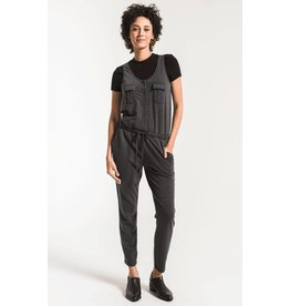 Z Supply Utility Jumpsuit BLK