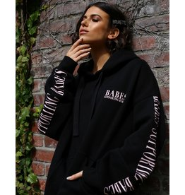 Brunette The Label BSB Big Sister Hoodie BLK/PNK