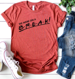 Kissed Apparel On A Break Tee CLAY