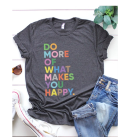 Kissed Apparel Do More Tee CHAR