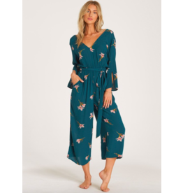 Billabong Twist Back Jumpsuit GRN