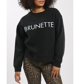Brunette The Label Brunette Step Sister Crew ABLK