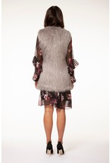 Black Tape S/L Fur Vest GRY