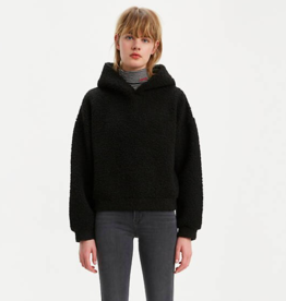 Levi's Anna Sherpa Hoodie BLK