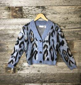 RD Style Leo Knit Cardi BLU