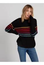 Volcom Move On Up Stripe Sweater BLC