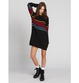Volcom Move On Up Sweater Dress BLC