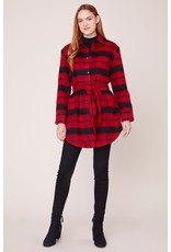 BB Dakota Wild and Wooly Jacket RED