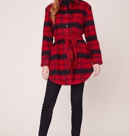 BB Dakota Wild and Wooly Jacket RED