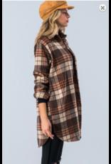 TrendNotes Flannel Plaid Jacket