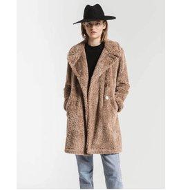 Z Supply Cozy Sherpa Jacket BRN