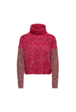 Only/Vero Moda Riley Knit Highneck Sweater MUL