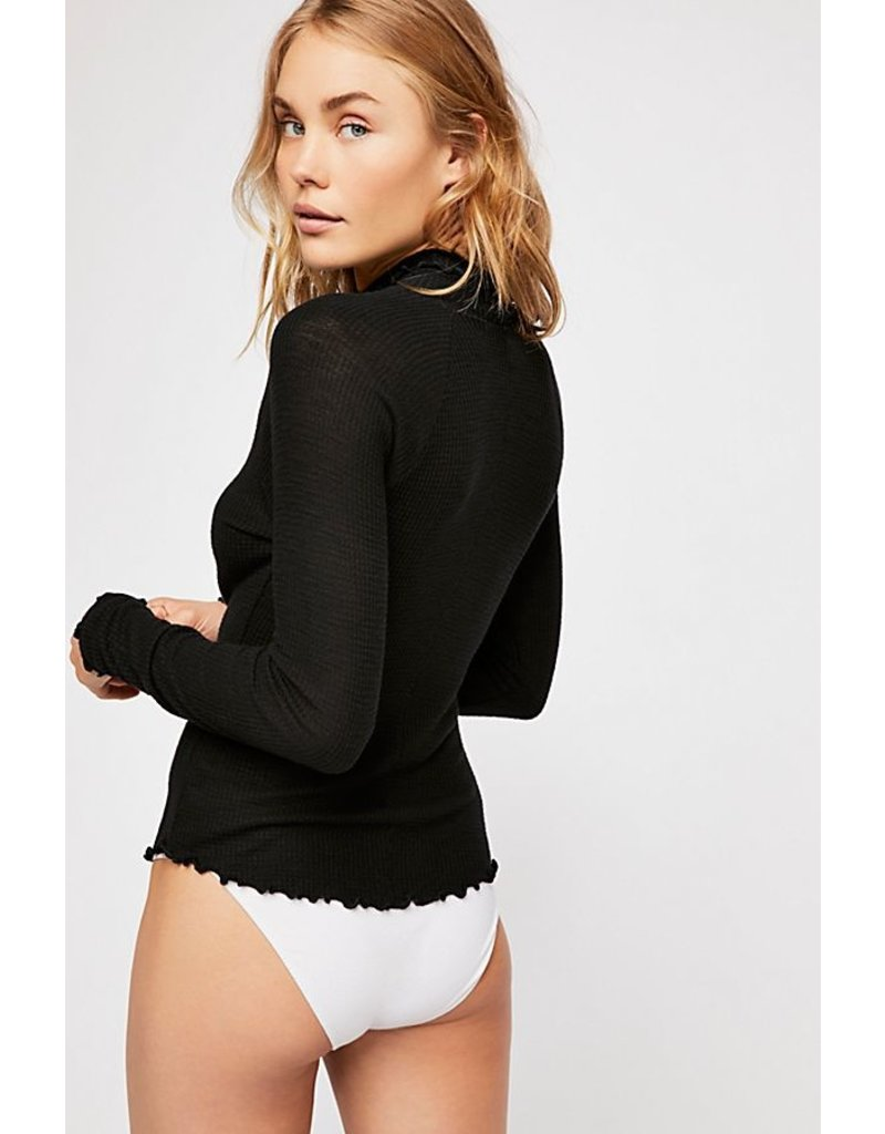 Free People Make It Easy Thermal BLK