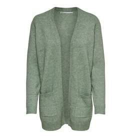 Only/Vero Moda Lesly L/S Open Cardi SAGE