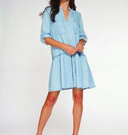 Dex 3/4 Sleeve Shirt Dress DNM
