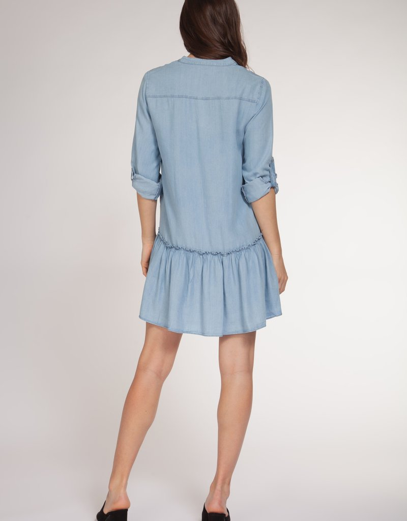 Dex 3/4 Sleeve Shirt Dress DNM