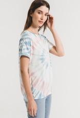 Z Supply Multi Colour Tie Dye Tee MUL
