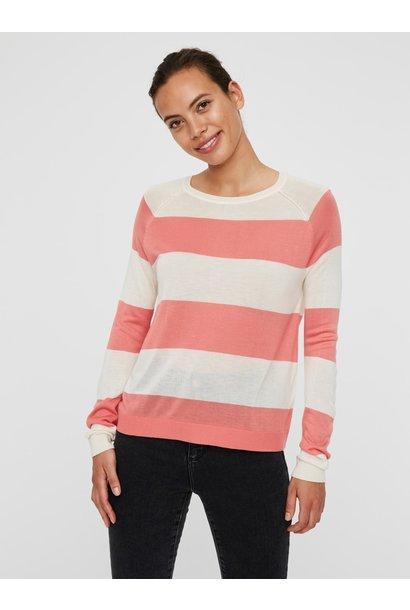 Lina Stripe Sweater COR