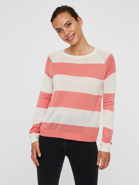 Lina Stripe Sweater COR-1