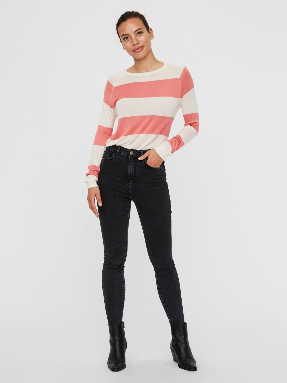 Lina Stripe Sweater COR-2